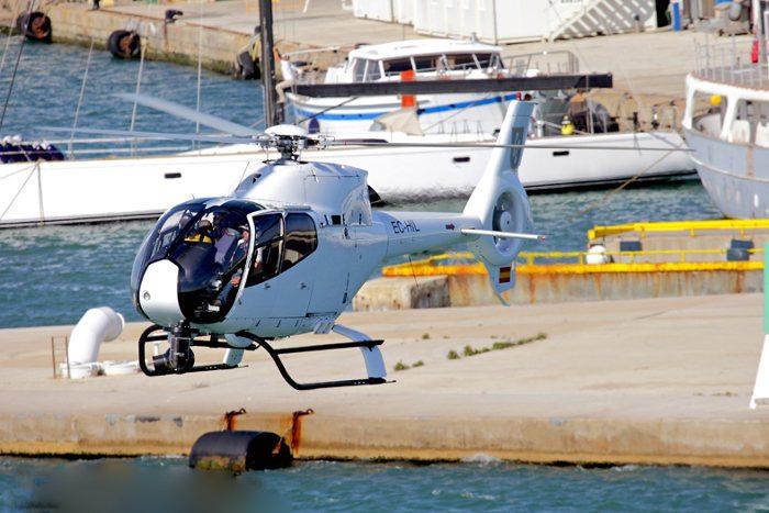 Условия полета на вертолете
