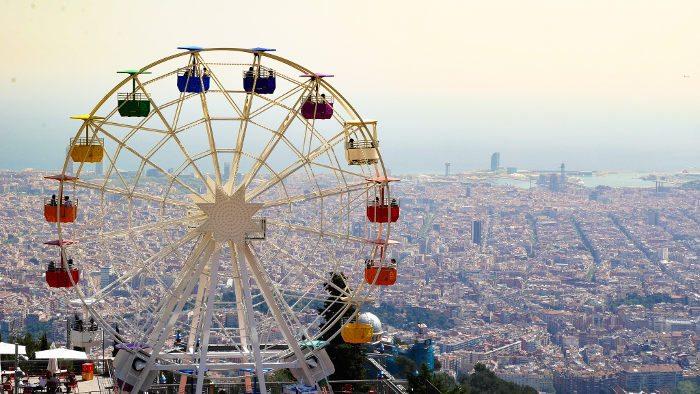 Барселона - город достопримечательностей