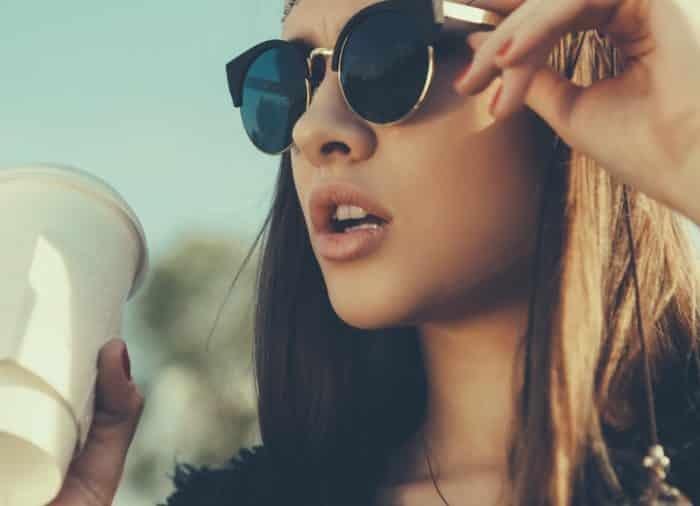 Возьмите с собой солнцезащитные очки