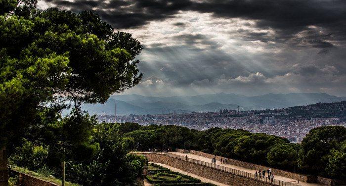 Барселона в клипах