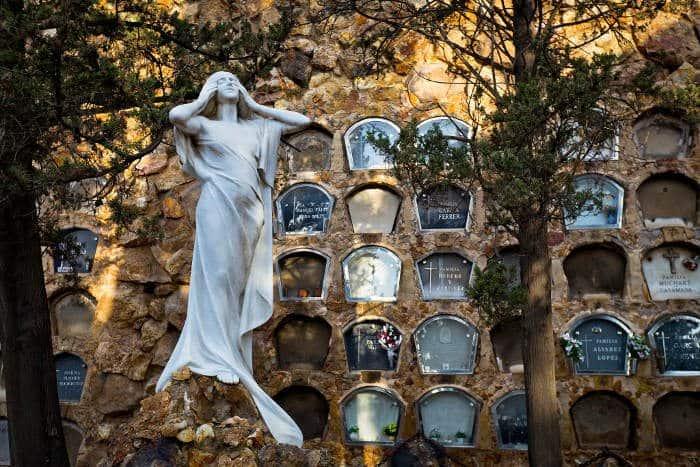 Кладбище Барселоны как искусство