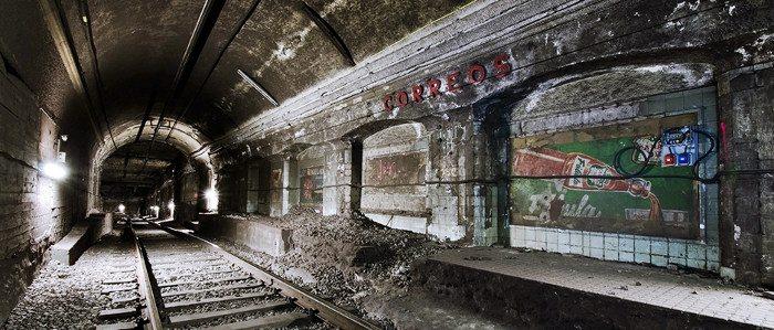 Станции-призраки в барселонской подземке