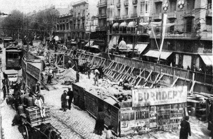 История метро Барселоны