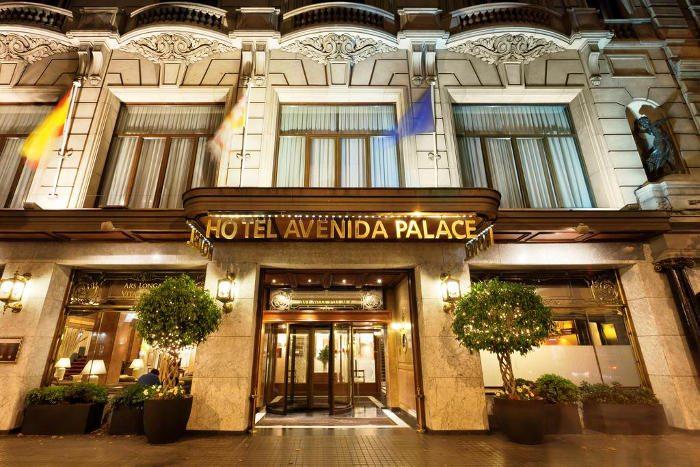 Отель Avenida Palace в центре города