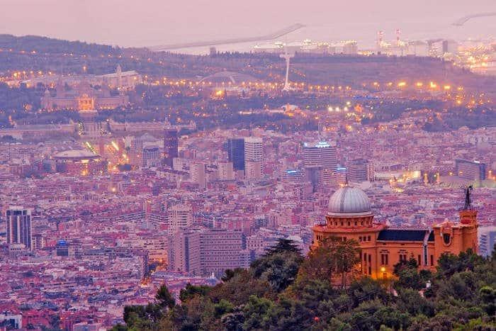 Панорама Барселоны