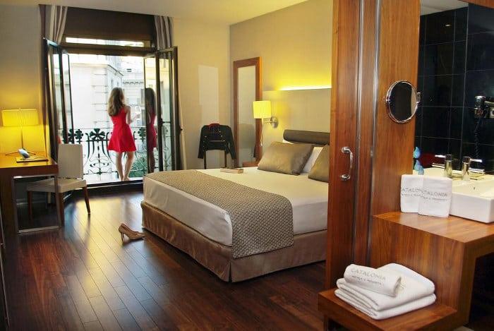 Номера в отелях Барселоны