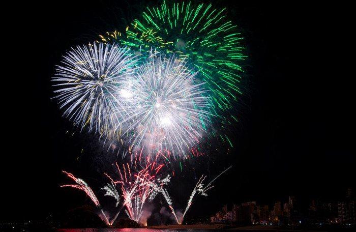 История фестиваля фейерверков в Бланес