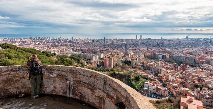 Смотровые площадки Барселоны — Бункер Эль Кармель