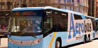 Автобус из аэропорта Барселоны