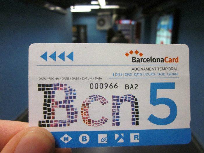 Барселона Кард на 5 дней