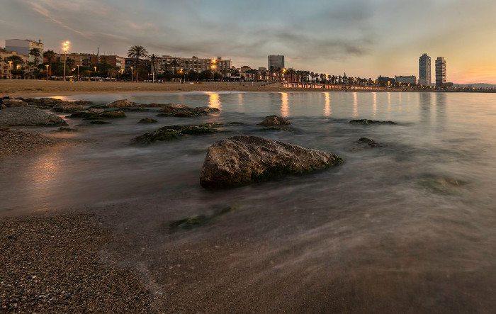 Температура воды моря в Барселоне