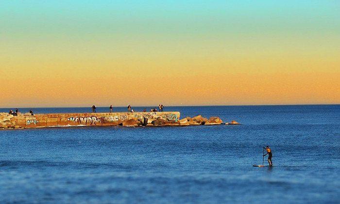 Барселона: температура воды в декабре