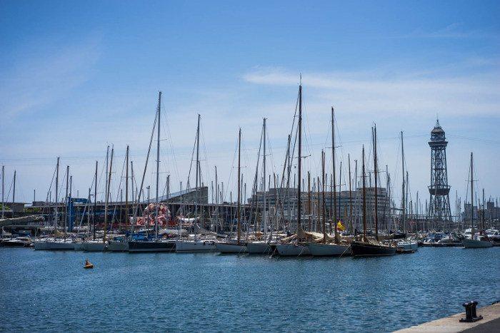 Барселона: температура воды в январе
