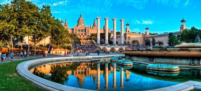 Лето в Барселоне: июнь