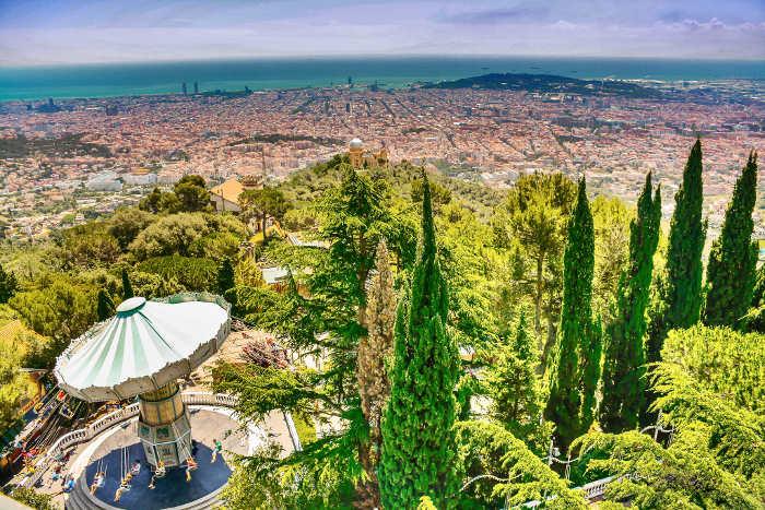 Тибидабо: самая высокая гора Барселоны