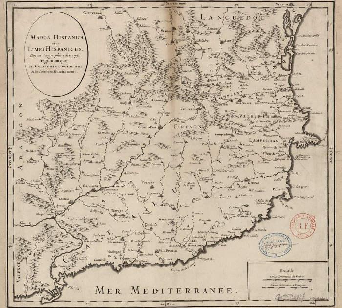 История Барселоны между франками и маврами