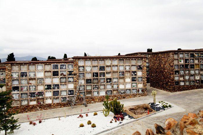 Дизайн кладбища Монжуик