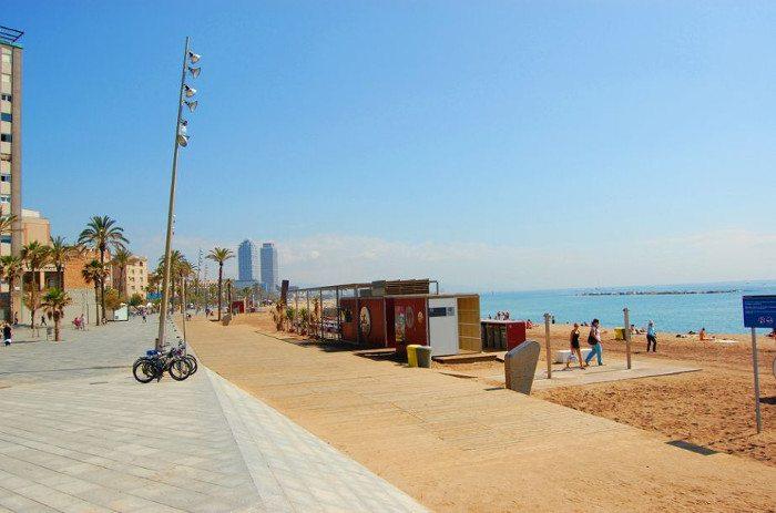 Барселона: температура воды в мае