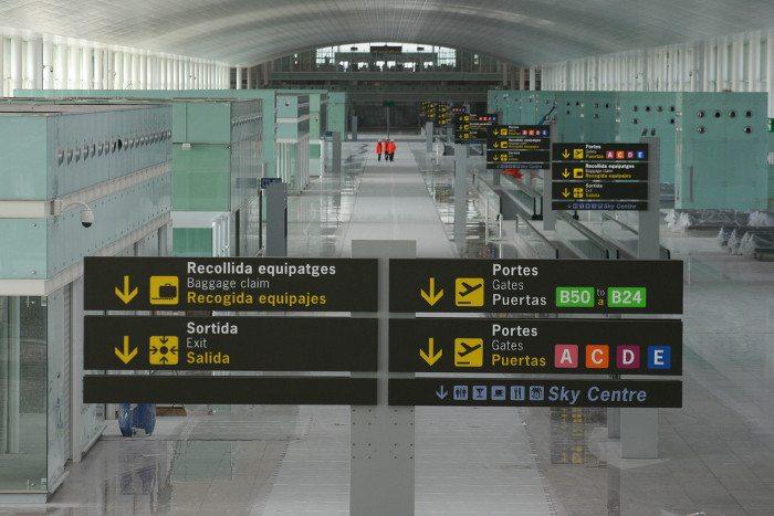 Аэропорт Барселоны: терминалы Т1 и Т2