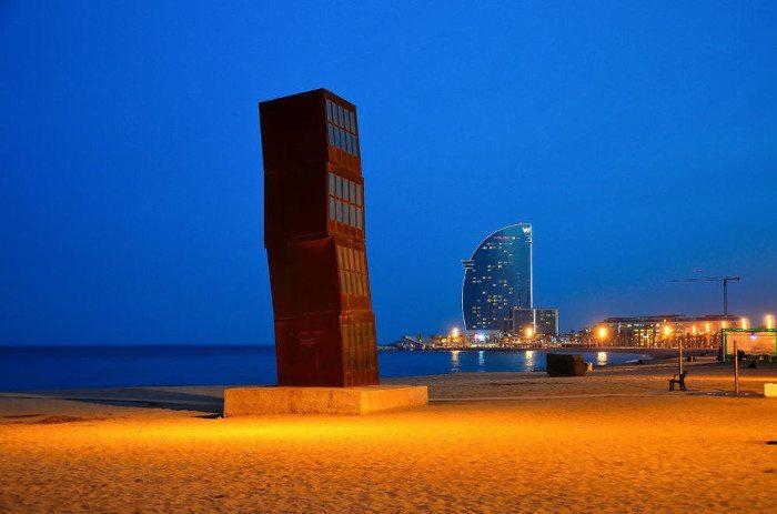 Барселона - лучший пляжный город