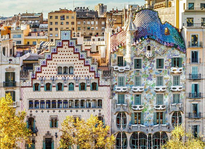 Квартал раздора - Модернизм Каталонии