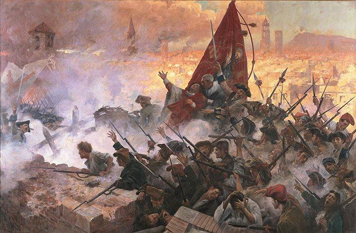 Война за испанское наследство, Барселона