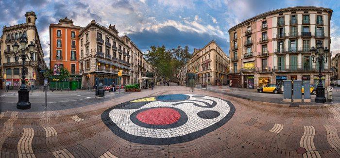 По маршруту Жоана Миро в Барселоне