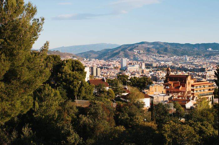 Район Орта-Гинардо в Барселоне