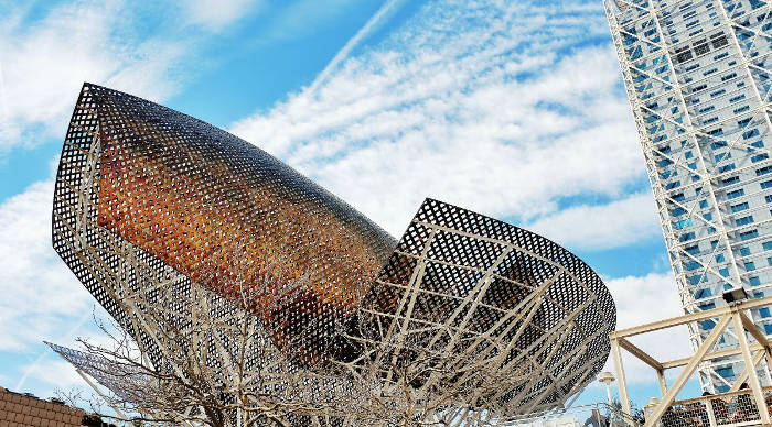 Золотая рыба Барселоны