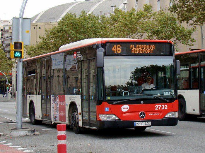 Как добраться из аэропорта Барселоны на автобусе