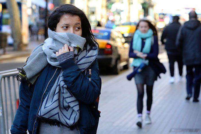Погода в Барселоне зима