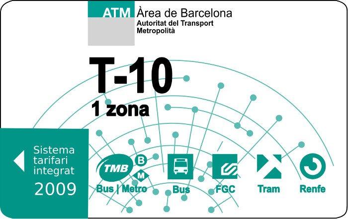 Проездной билет Т10