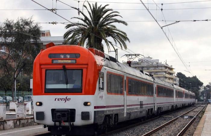 Поезд Барселона Салоу
