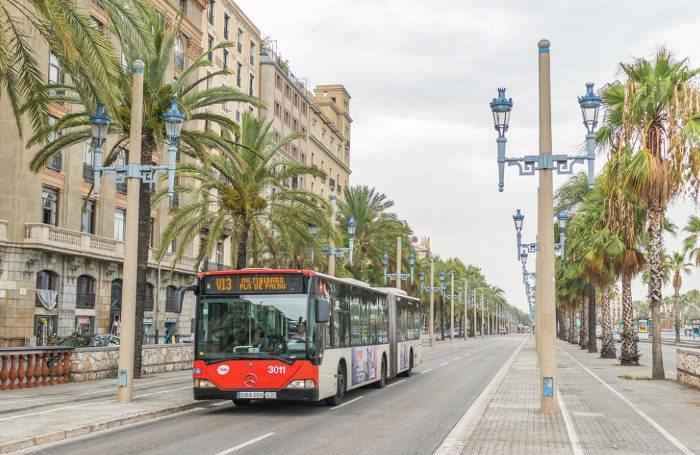 Проезд в Барселоне