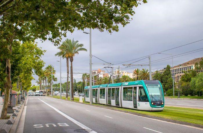 Трамваи в Барселоне