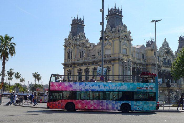Экскурсионные автобусы Барселоны