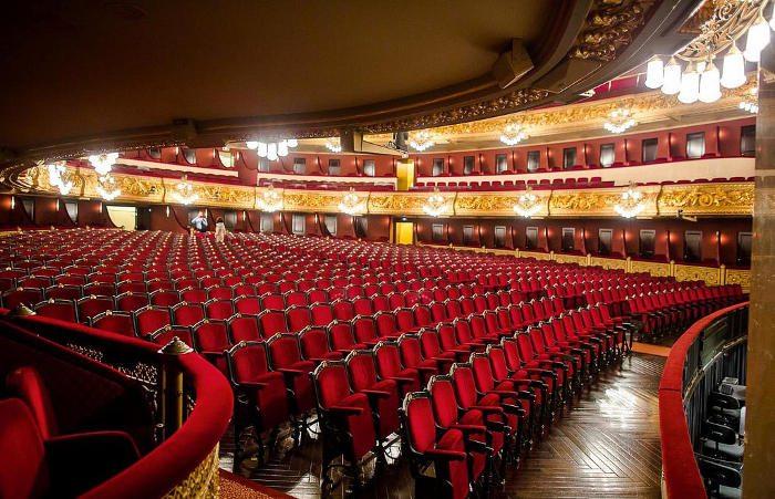 Зрительный зал театра Лисеу