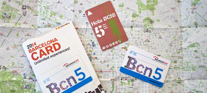 Туристическая карта Барселоны