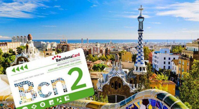 Туристическая карта Барселоны: все виды