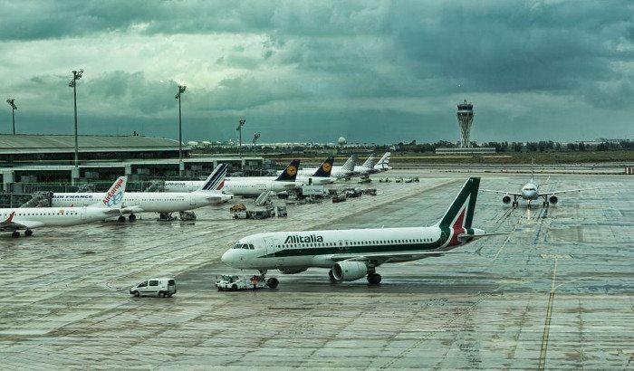 Из Барселоны в Рим на самолете
