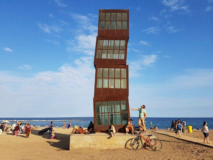 Купальный сезон в Барселоне в сентябре