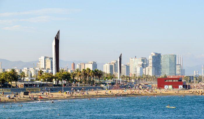 Барселона в сентябре: погода