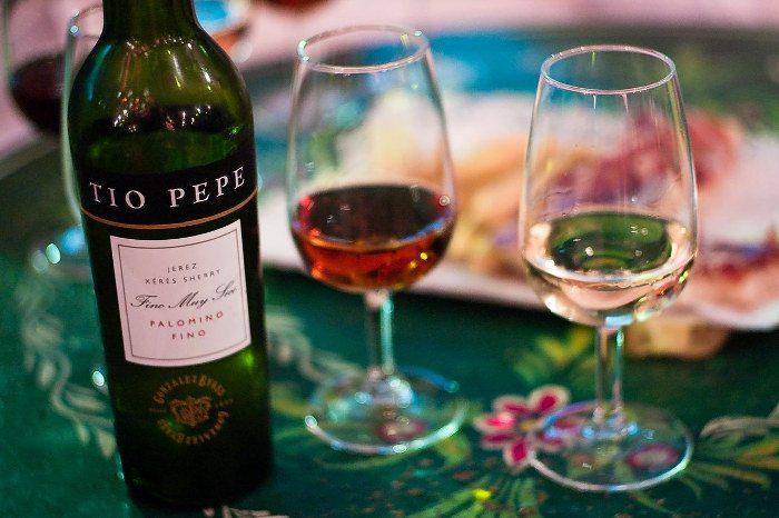 Испанские напитки: Херес