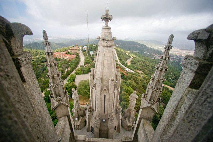Строительство Храма Святого Сердца