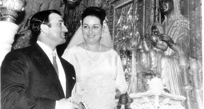 Кабалье и Барселона: Свадьба Монсеррат Кабалье