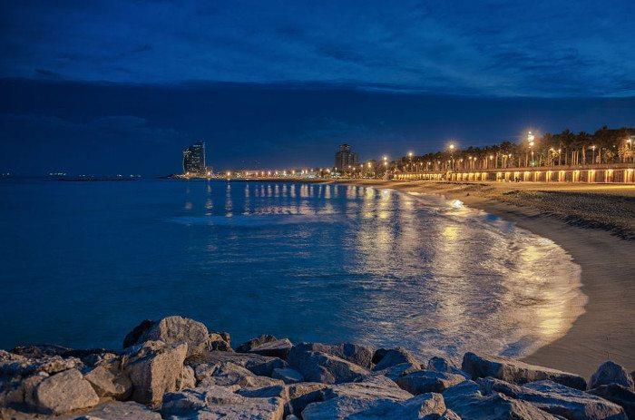 Лучшие пляжи Барселоны: Барселонета