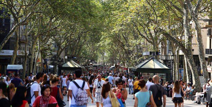 Как добраться до улицы Ла Рамбла