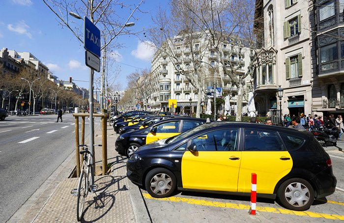 Права и обязанности пассажиров такси в Барселоне