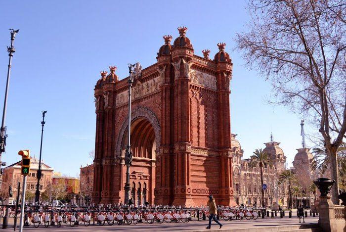 На велосипеде к Триумфальной Арке