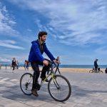 Велопрогулка по пляжу